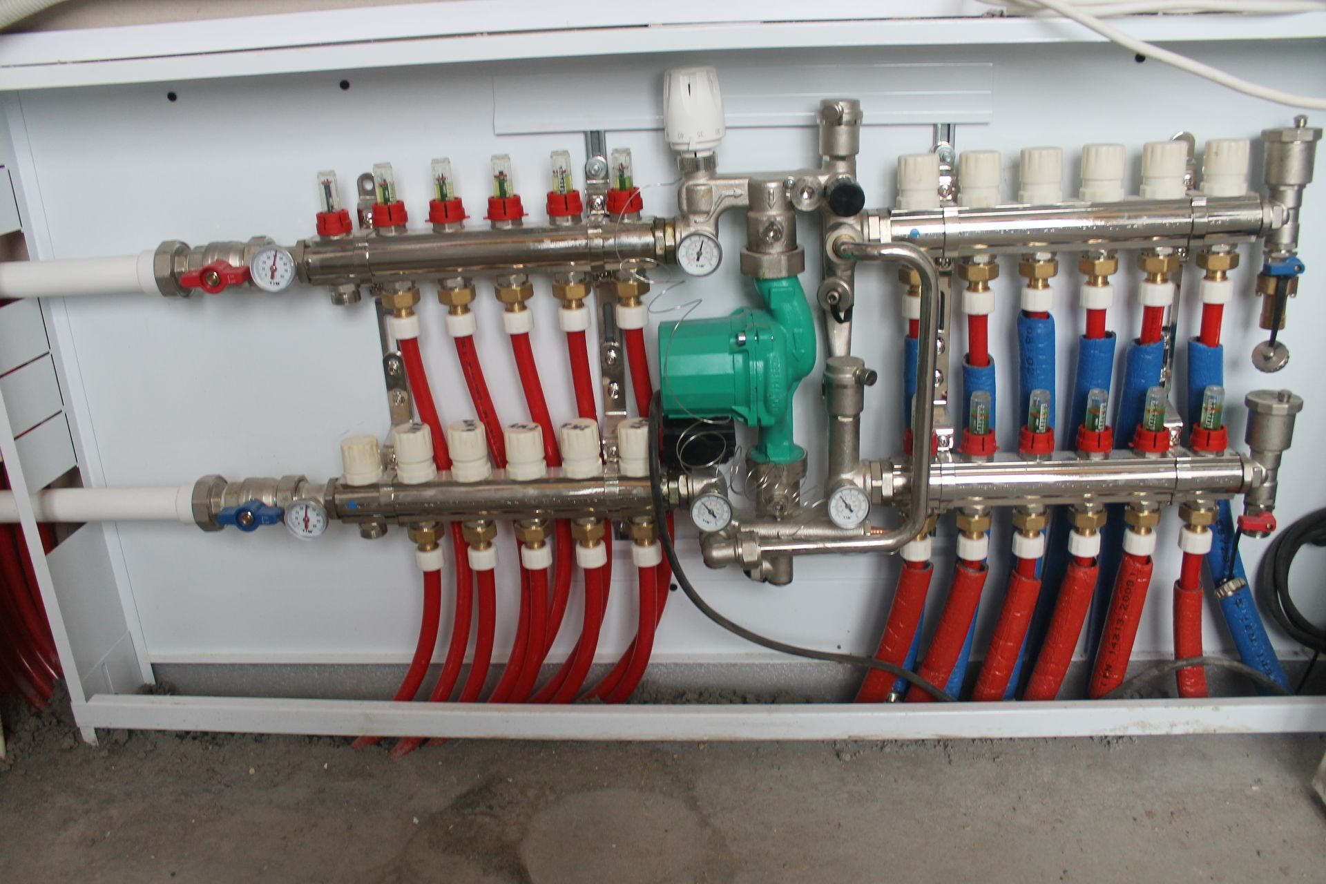 Проект водоснабжения многоквартирного дома